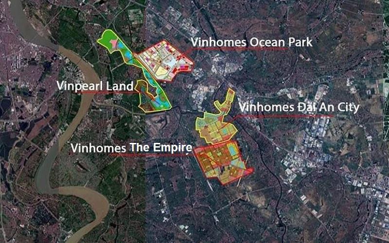 Kết nối dự án Vinhomes The Empire Hưng Yên