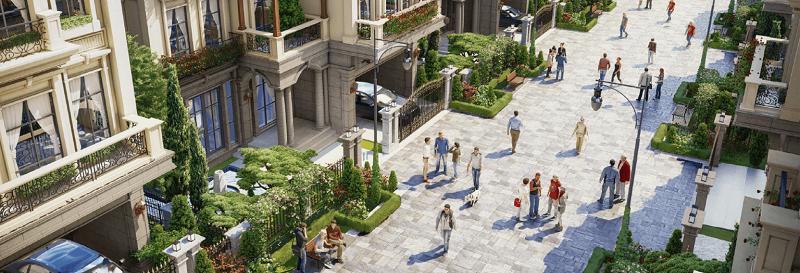 Không gian xanh dự án Sunshine Capital Tây Thăng Long