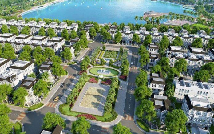 Không gian xanh dự án Vinhomes The Empire Hưng Yên