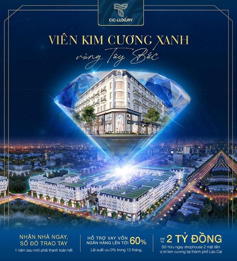 Mở bán dự án CIC Luxury Lào Cai - Cốc Lếu
