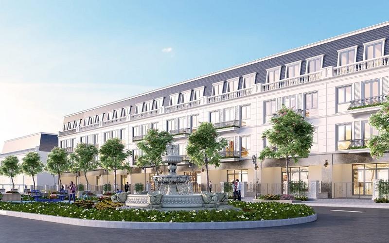 Nhà phố dự án CIC Luxury Lào Cai - Cốc Lếu