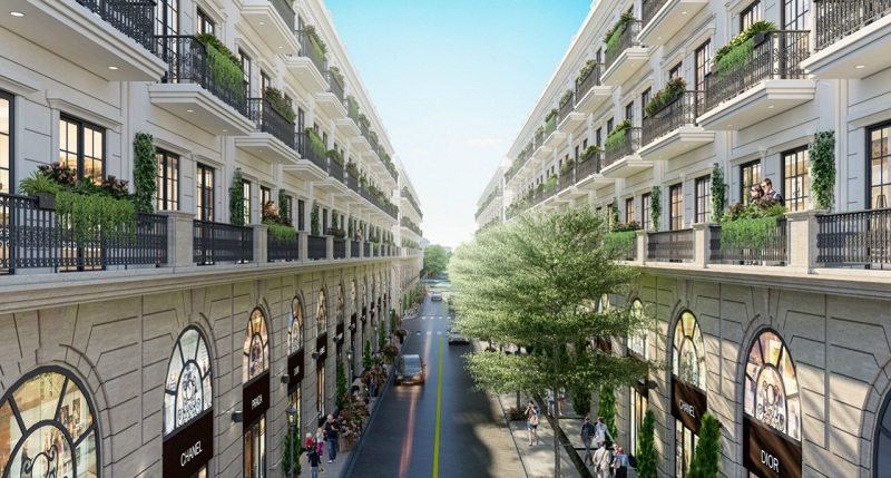 Nội khu dự án Kinh Bắc Golden Gate Từ Sơn - Bắc Ninh
