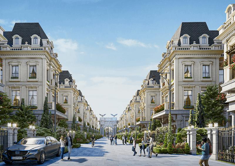 Nội khu dự án Sunshine Capital Tây Thăng Long