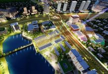 Phối cảnh 1 khu 40 lô đất nền Phú Cát - Hòa Lạc mặt đường tỉnh lộ 446