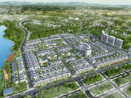 Phối cảnh 1 dự án Times Garden Vĩnh Yên Residences