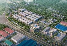 Phối cảnh 1 dự án TNR Stars Đông Mai - Quảng Yên - Quảng Ninh