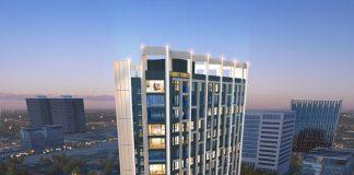 Phối cảnh 1 dự án Trinity Tower Mễ Trì - CenInvest