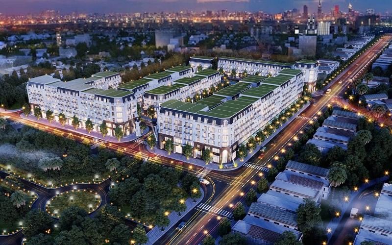 Phối cảnh 2 dự án CIC Luxury Lào Cai - Cốc Lếu