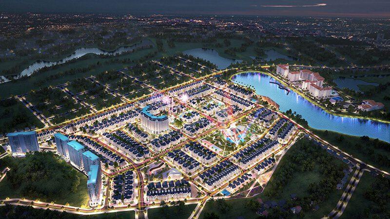 Phối cảnh 2 dự án Times Garden Vĩnh Yên Residences