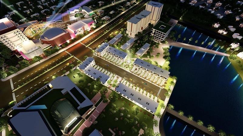 Phối cảnh 3 khu 40 lô đất nền Phú Cát - Hòa Lạc mặt đường tỉnh lộ 446