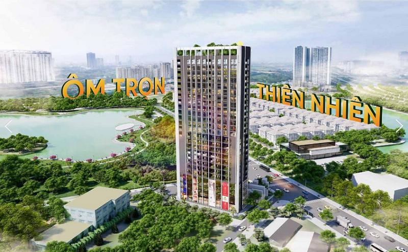Phối cảnh 5 dự án Trinity Tower Mễ Trì - CenInvest