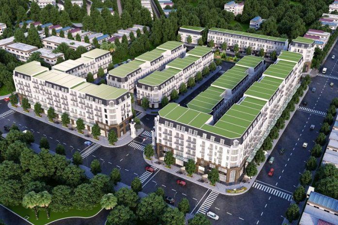 Phối cảnh dự án CIC Luxury Lào Cai - Cốc Lếu