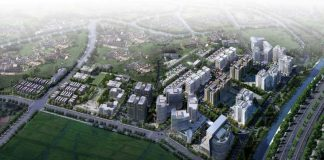 Phối cảnh khu đô thị Hà Nội Garden City Thạch Bàn - Long Biên