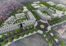 Phối cảnh phân khu nhà phố Eastern Park Thạch Bàn - Long Biên