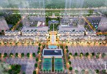 Phối cảnh Shophouse 88 Central Thạch Bàn Garden City - Long Biên