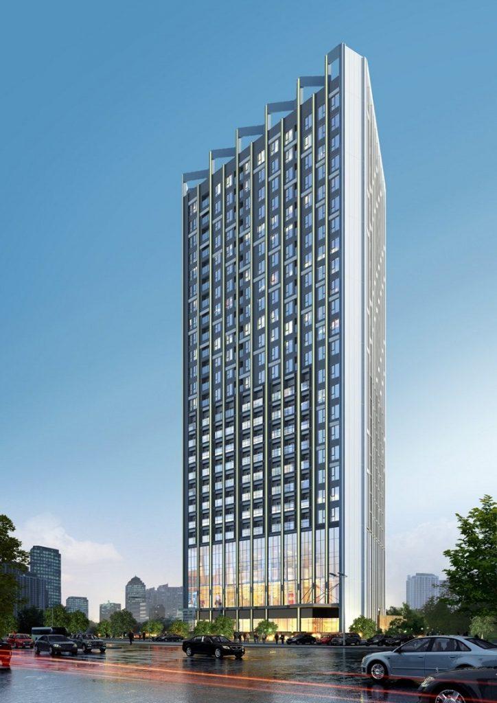 Phối cảnh dự án Trinity Tower Mễ Trì - CenInvest