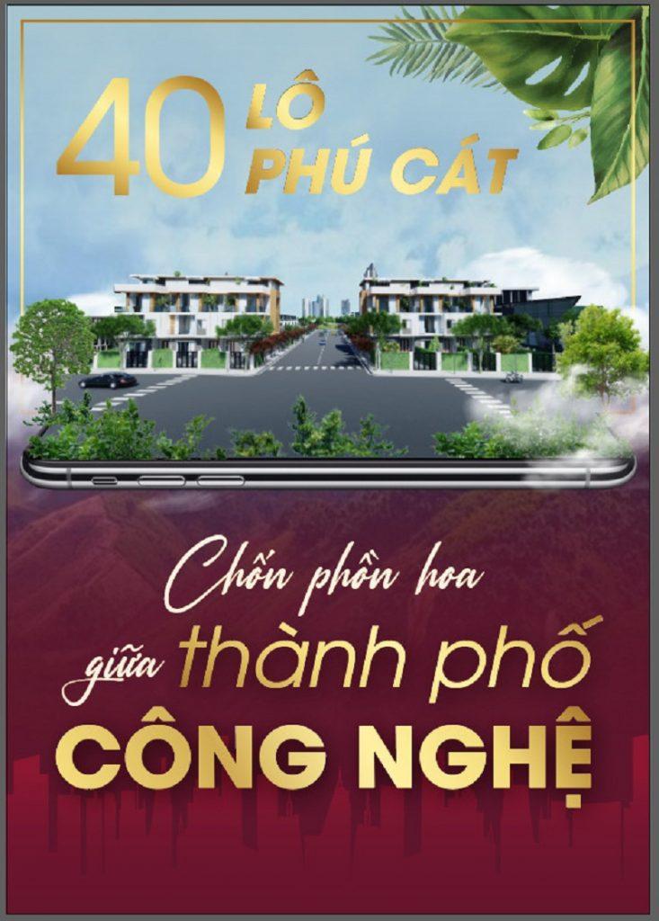 Ra mắt 40 lô đất nền Phú Cát - Hòa Lạc mặt đường tỉnh lộ 446