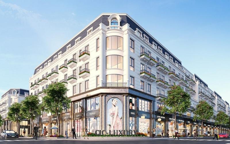 Shophouse lô góc dự án CIC Luxury Lào Cai - Cốc Lếu