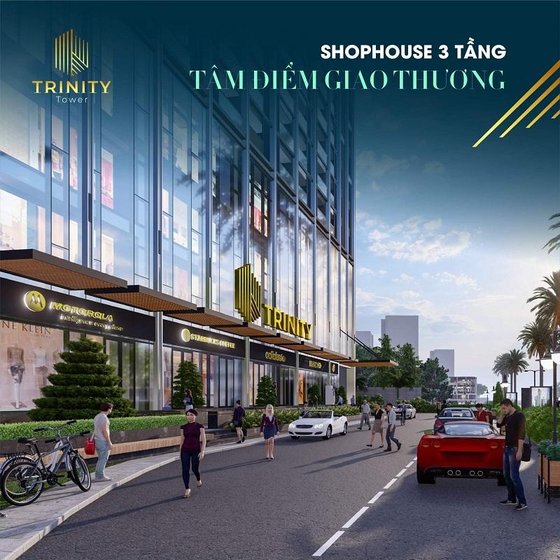 Shophouse dự án Trinity Tower Mễ Trì - CenInvest