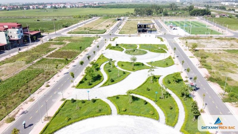 Tiện ích 1 đất nền dự án Long Châu Star Mẫn Xá - Yên Phong đối diện Samsung Bắc Ninh