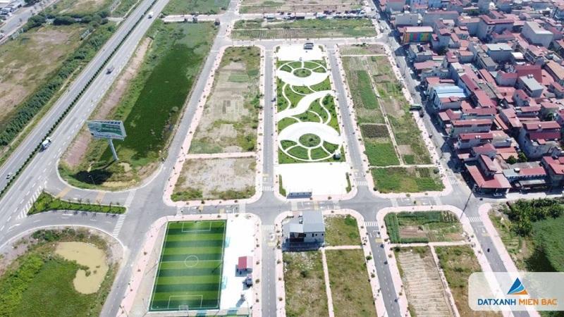 Tiện ích 2 đất nền dự án Long Châu Star Mẫn Xá - Yên Phong đối diện Samsung Bắc Ninh