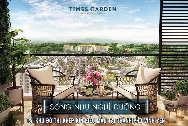 Tiện ích 2 dự án Times Garden Vĩnh Yên Residences