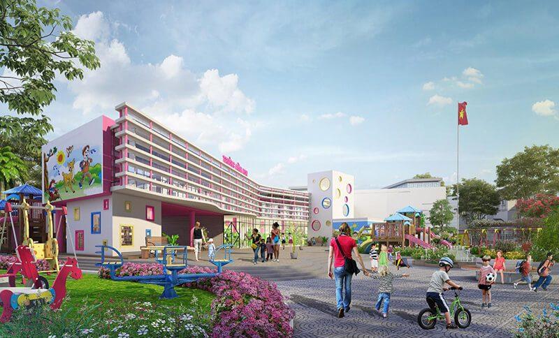 Trường mầm non dự án Times Garden Vĩnh Yên Residences